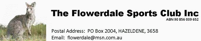 The Flowerdale Sports Club Inc